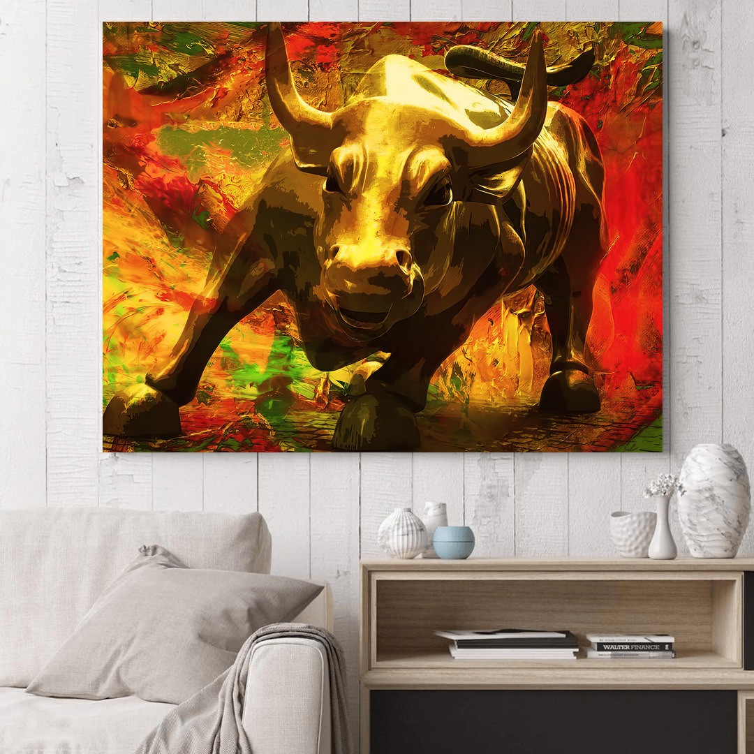 Charging Bull · Gold Edition_BUL108_3