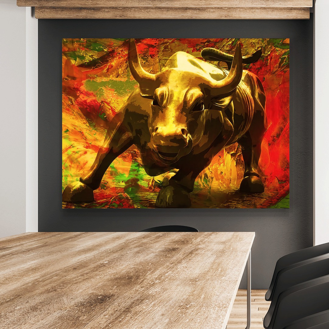 Charging Bull · Gold Edition_BUL108_6