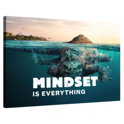 Mindset is everything (Lizzard)