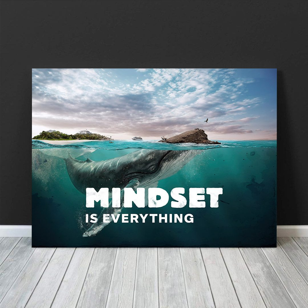 Mindset is everything (Whale)_MND120_1