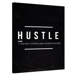 Hustle Verb