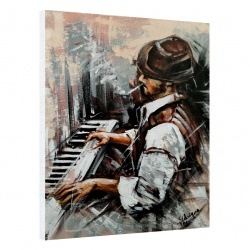 The smoking pianist