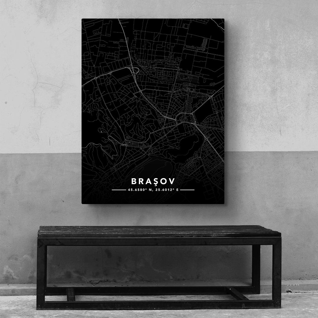 Braşov · Street Map_MAP202_3