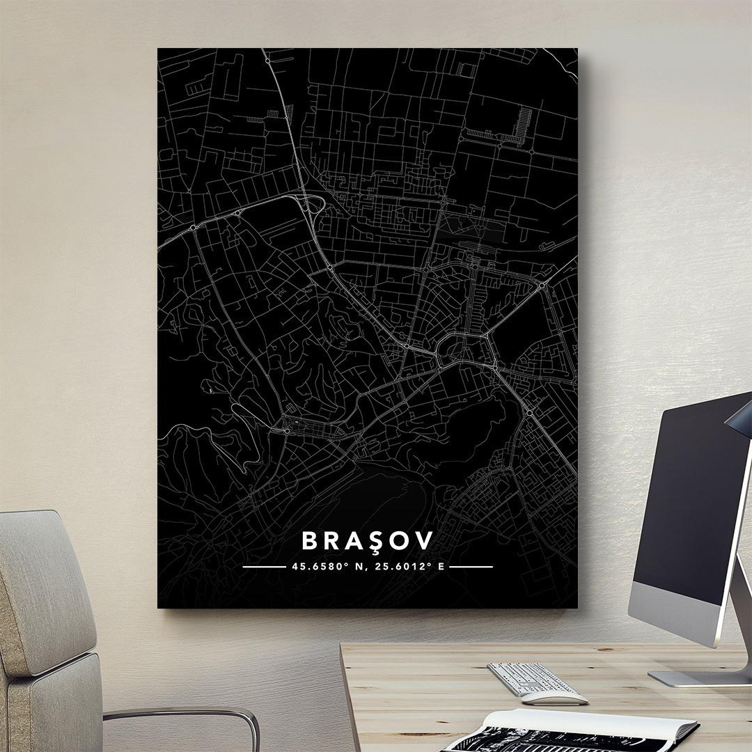 Braşov · Street Map_MAP202_6