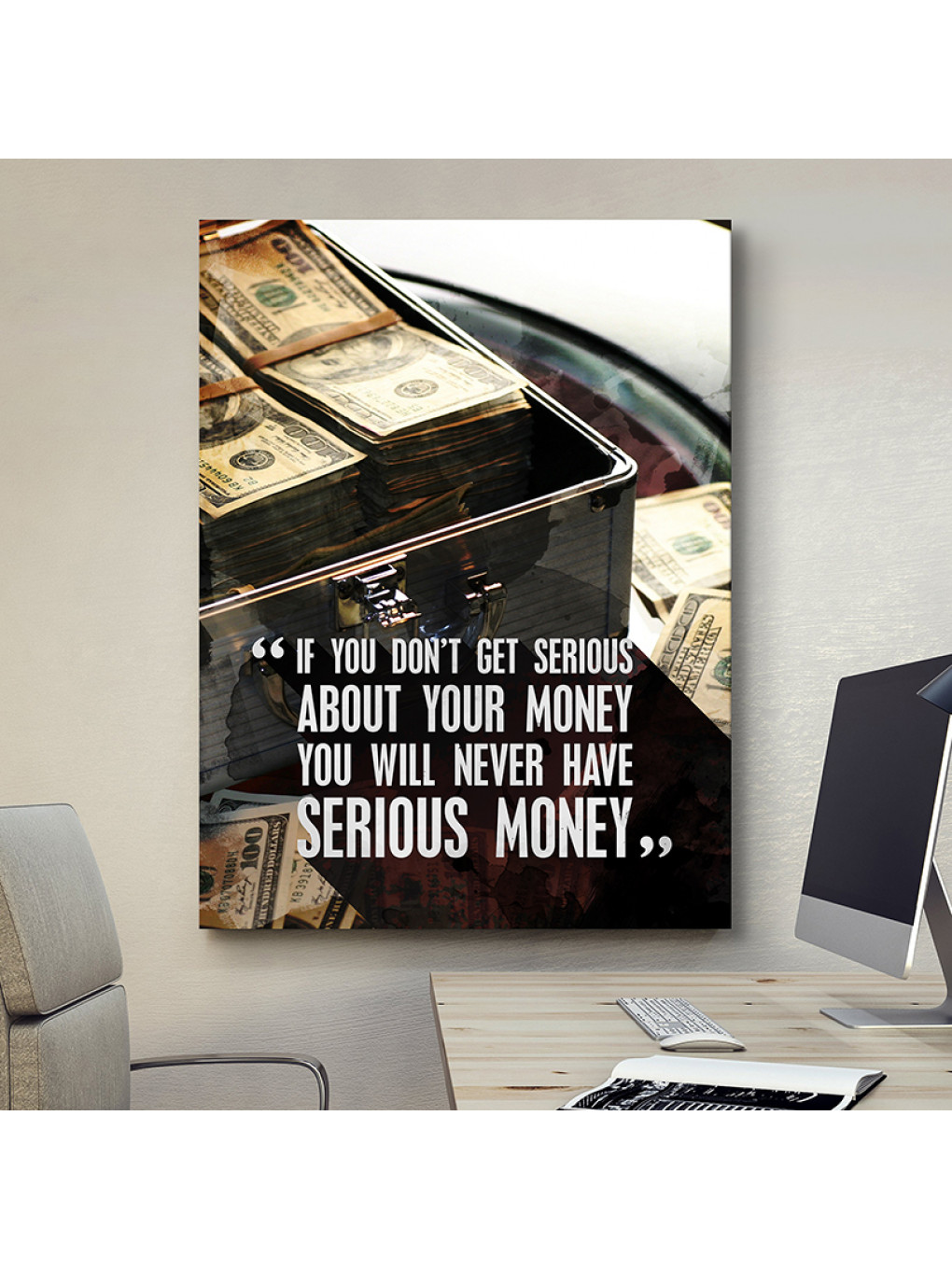 If you don't get serious about your money, you will never have serious money_MNY199_1