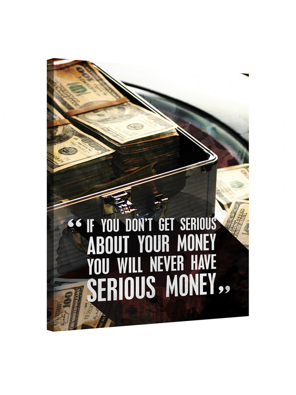 If you don't get serious about your money, you will never have serious money_MNY199_0