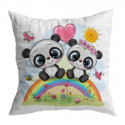 Panda Babies on Rainbow