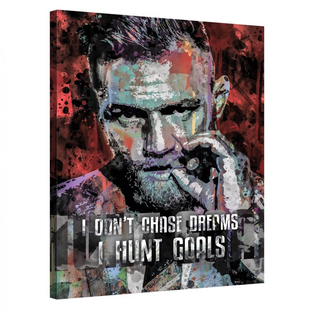 I don't chase dreams, I hunt goals_HNT875_0