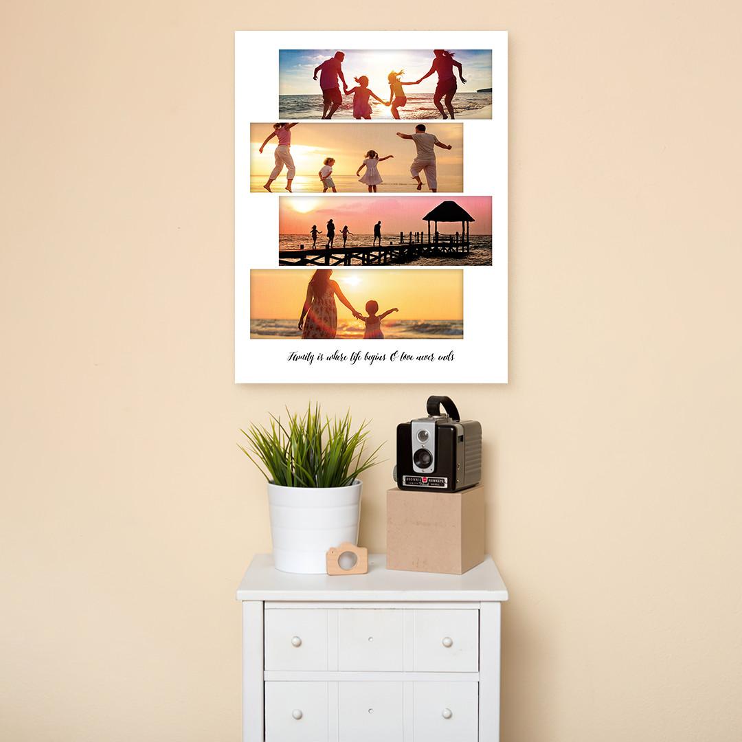 Tablou Personalizat cu 4 poze panoramice_CUST336_2
