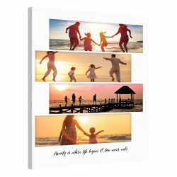 Tablou Personalizat cu 4 poze panoramice