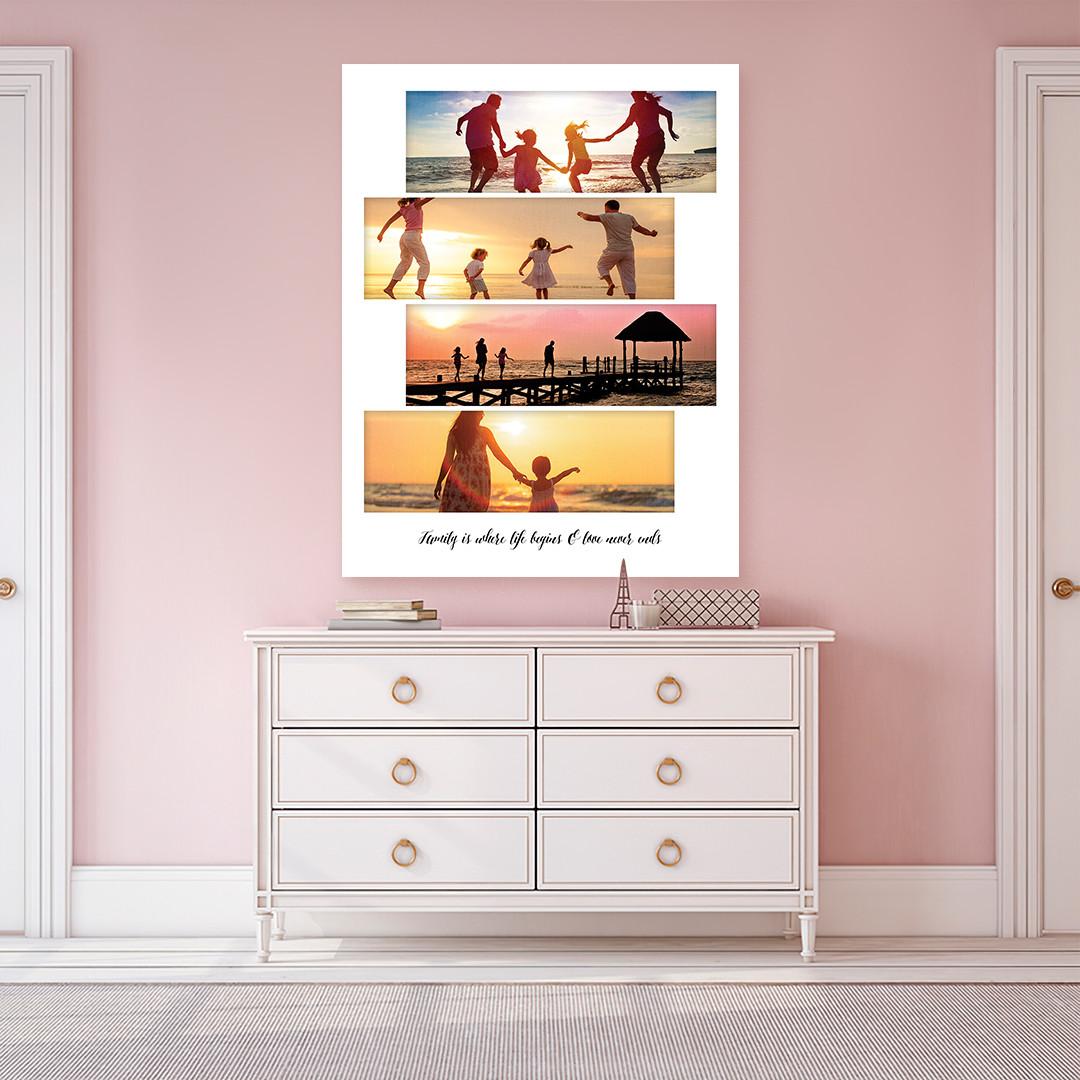 Tablou Personalizat cu 4 poze panoramice_CUST336_3