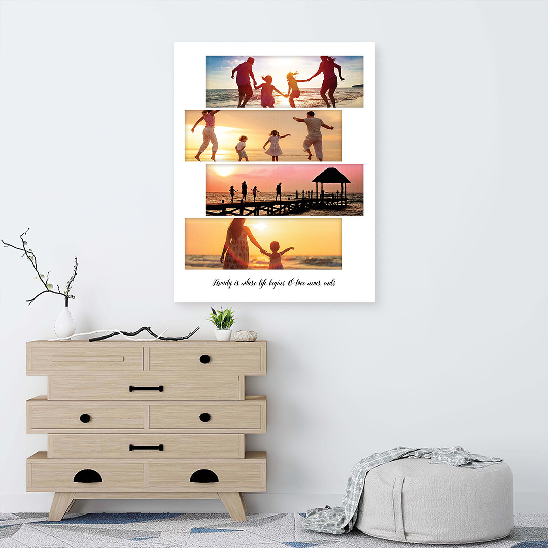 Tablou Personalizat cu 4 poze panoramice_CUST336_1