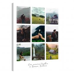 Tablou Personalizat cu 9 poze · Grid