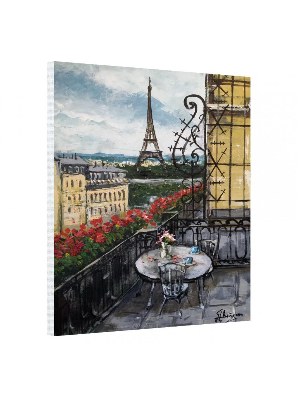 A beautiful view of Eiffel Tower_EIF199_0
