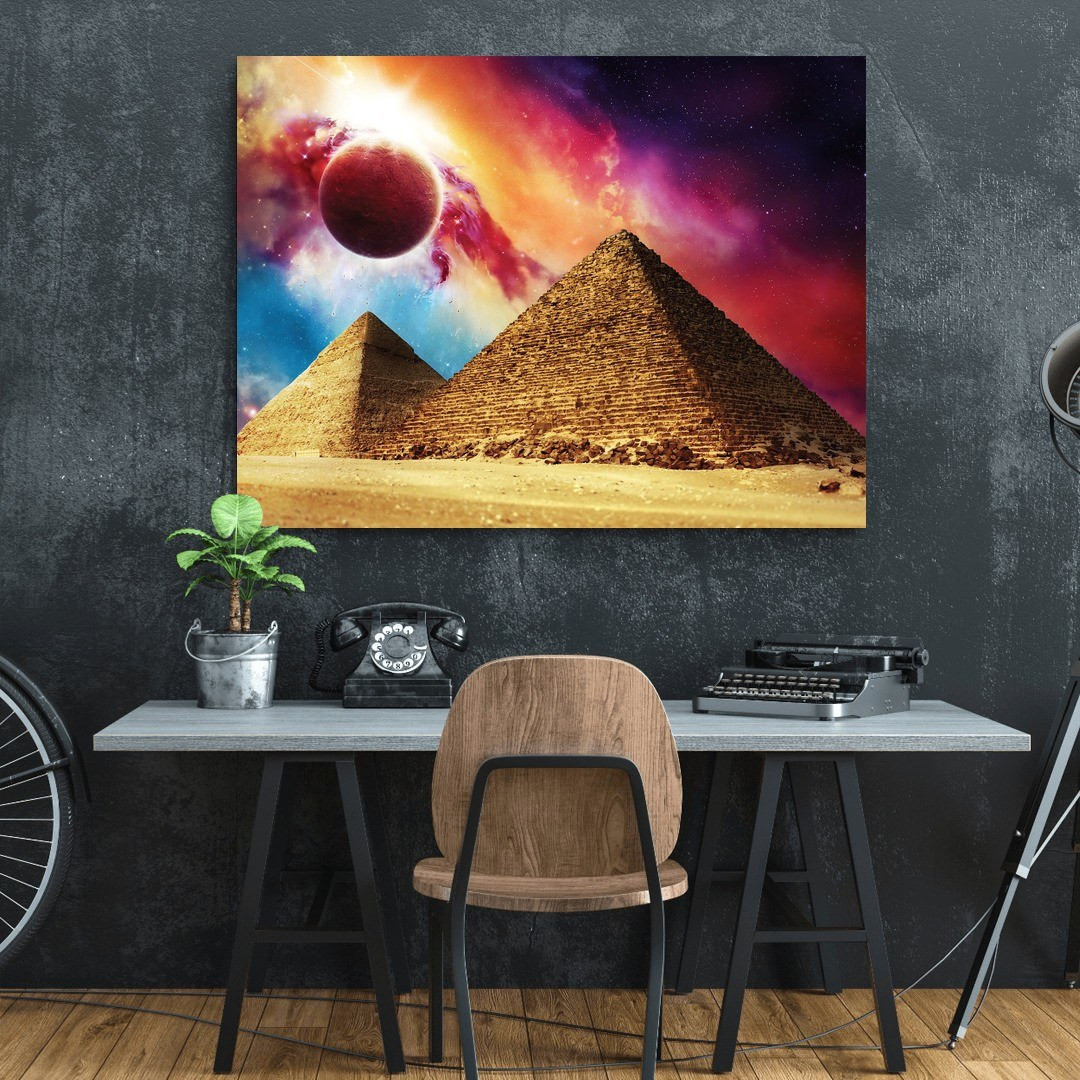 The Great Pyramid of Giza · Solar Flare_THGRTPRM382_2