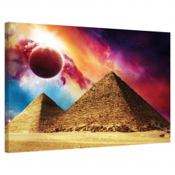 The Great Pyramid of Giza · Solar Flare