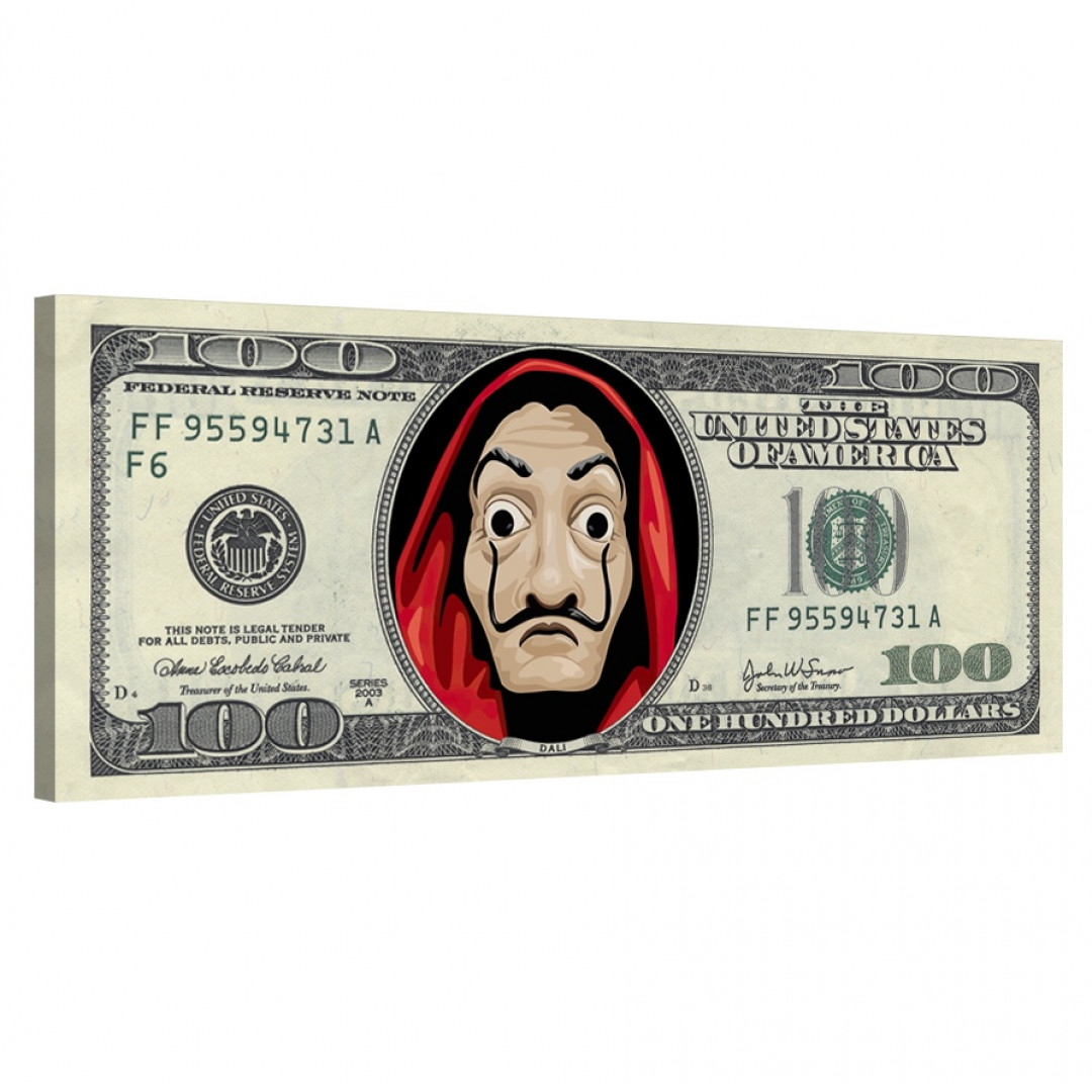 Money Heist · Dollar Bill_MNHST399_0