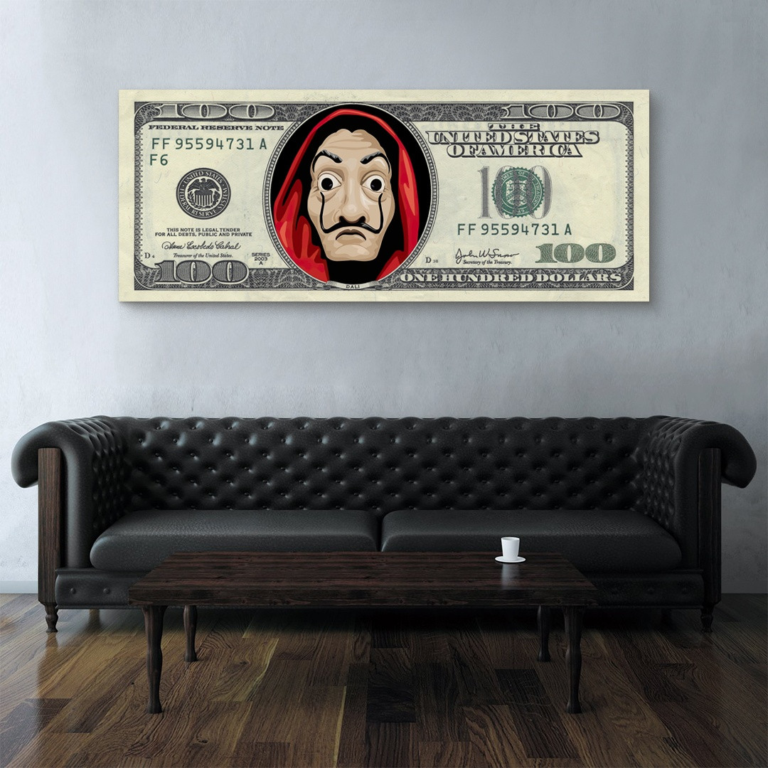 Money Heist · Dollar Bill_MNHST399_2