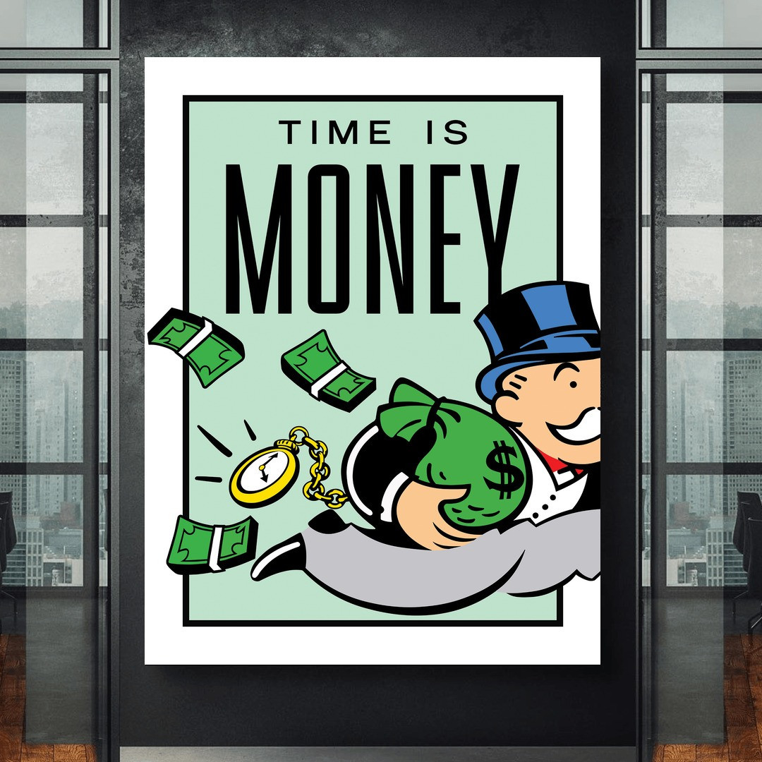 Time is Money · Monopoly Edition_TIMM405_1