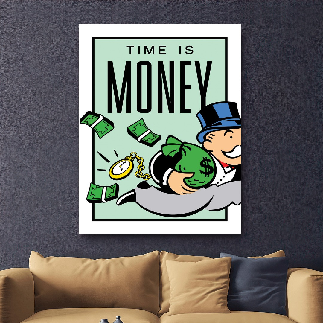 Time is Money · Monopoly Edition_TIMM405_2