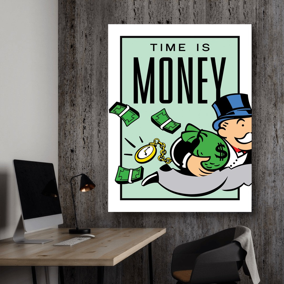 Time is Money · Monopoly Edition_TIMM405_3