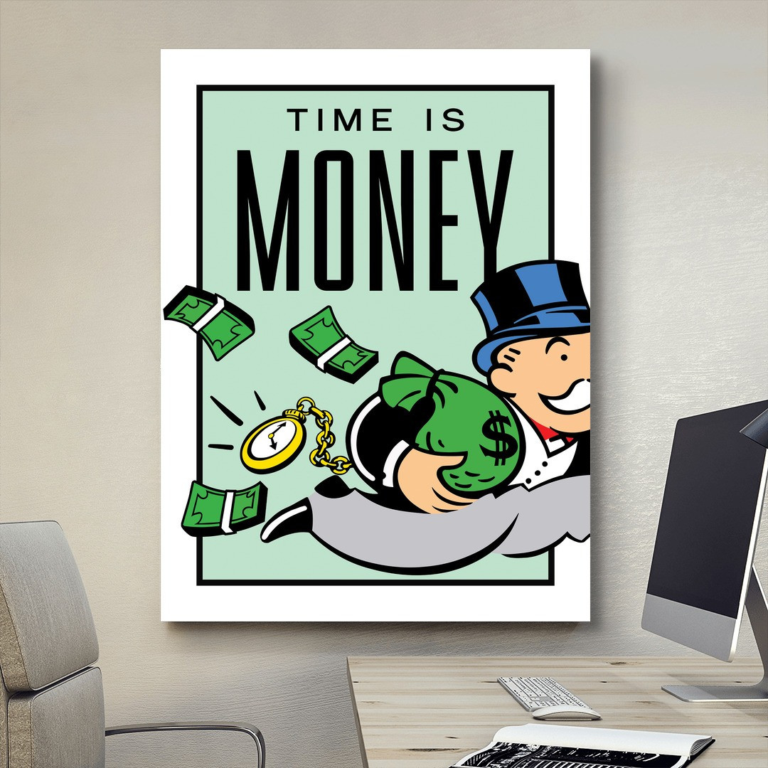 Time is Money · Monopoly Edition_TIMM405_4