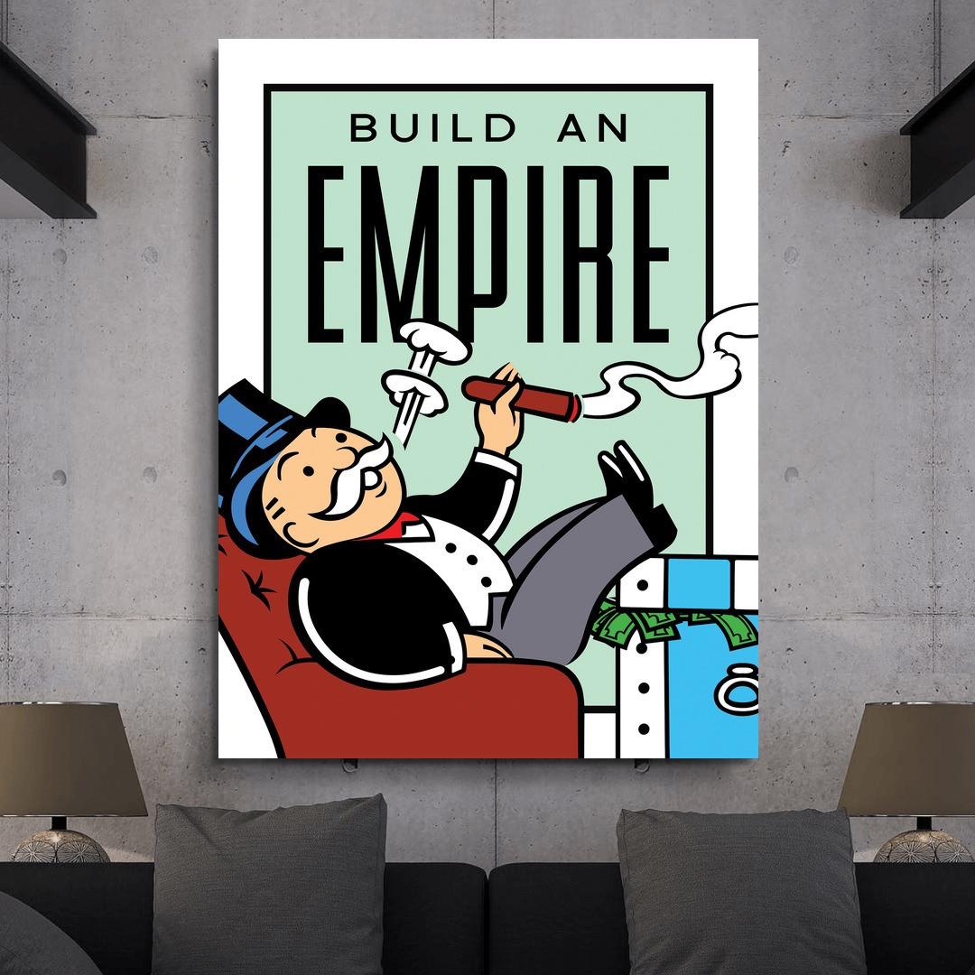 Build An Empire · Monopoly Edition_BAEM406_4