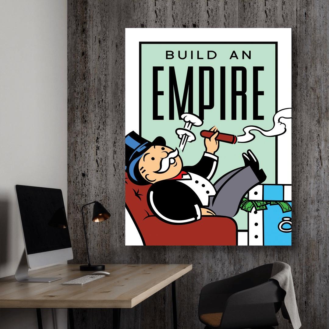 Build An Empire · Monopoly Edition_BAEM406_2
