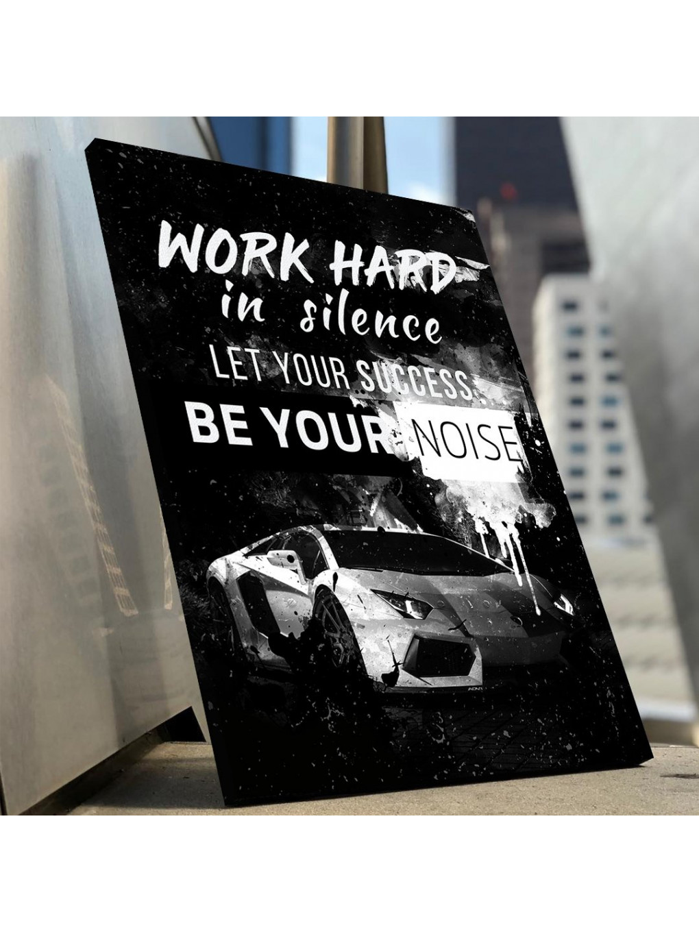 Work hard in silence, let your success be your noise_WRK154_2
