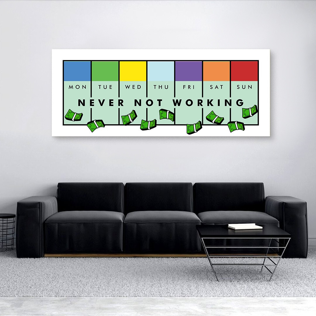 Never Not Working · Monopoly Edition_NVR413_3