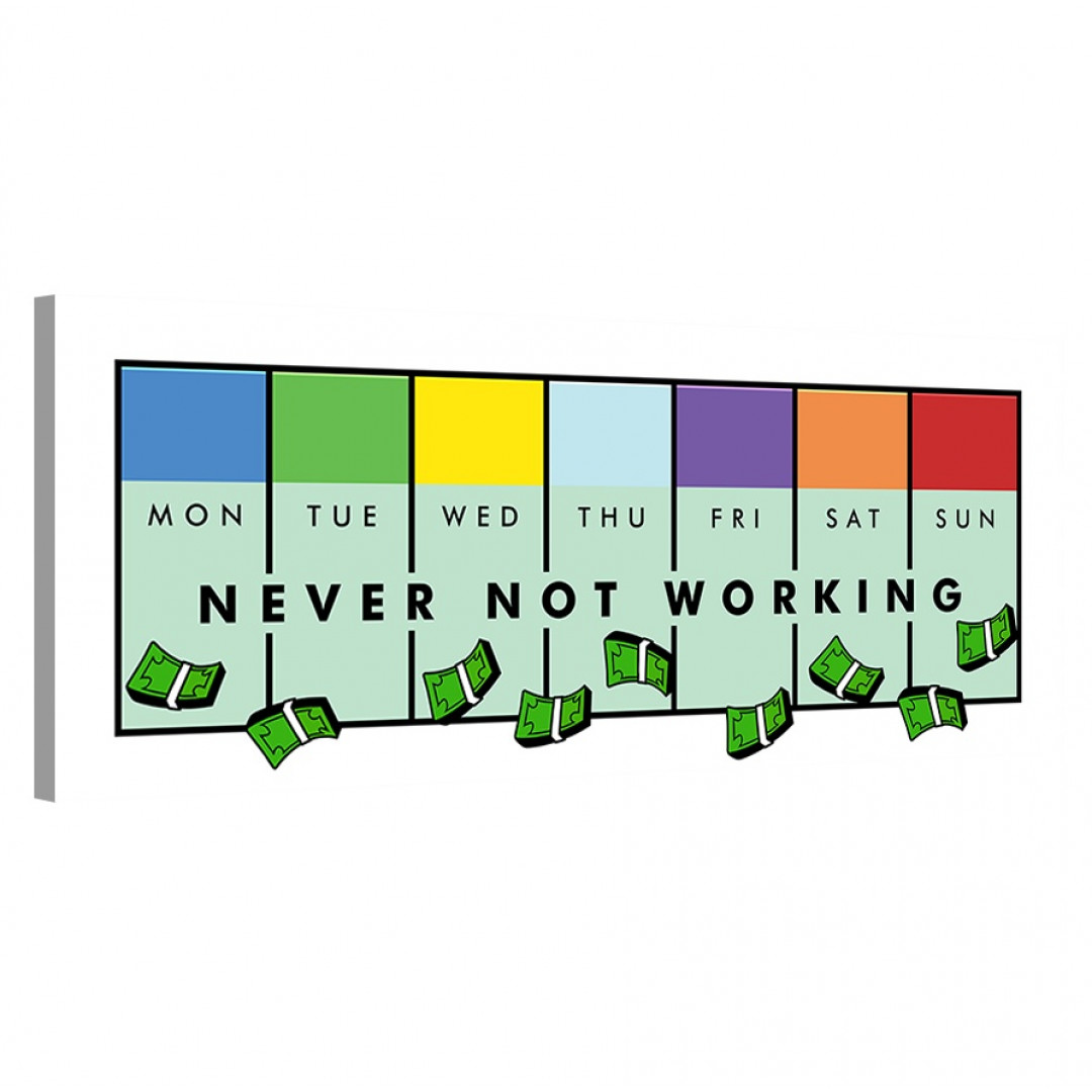 Never Not Working · Monopoly Edition_NVR413_0