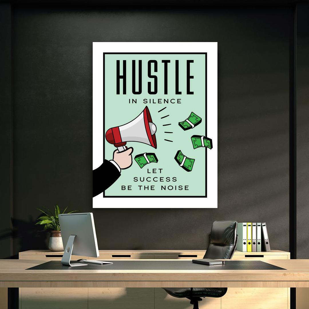 Hustle in Silence · Monopoly Edition_HSM417_6
