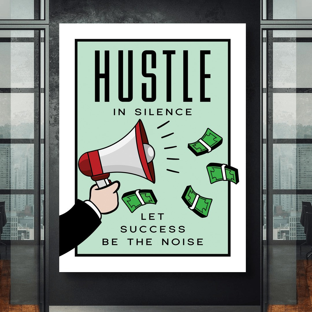 Hustle in Silence · Monopoly Edition_HSM417_1