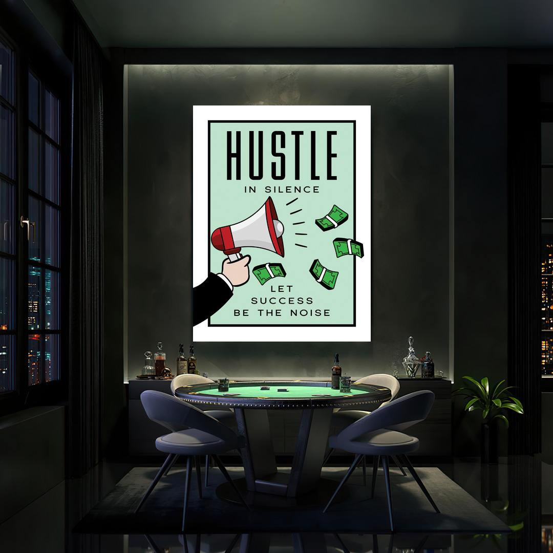 Hustle in Silence · Monopoly Edition_HSM417_3