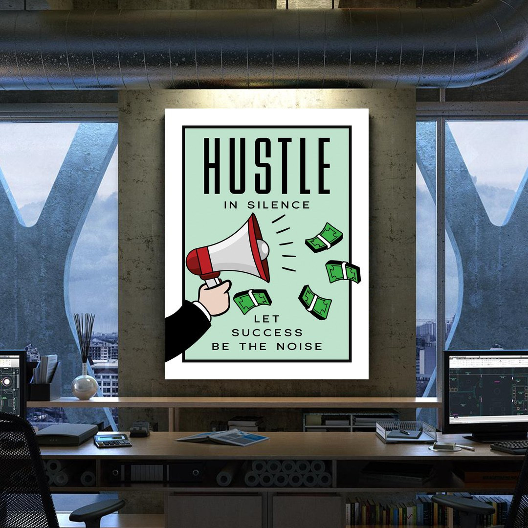 Hustle in Silence · Monopoly Edition_HSM417_5