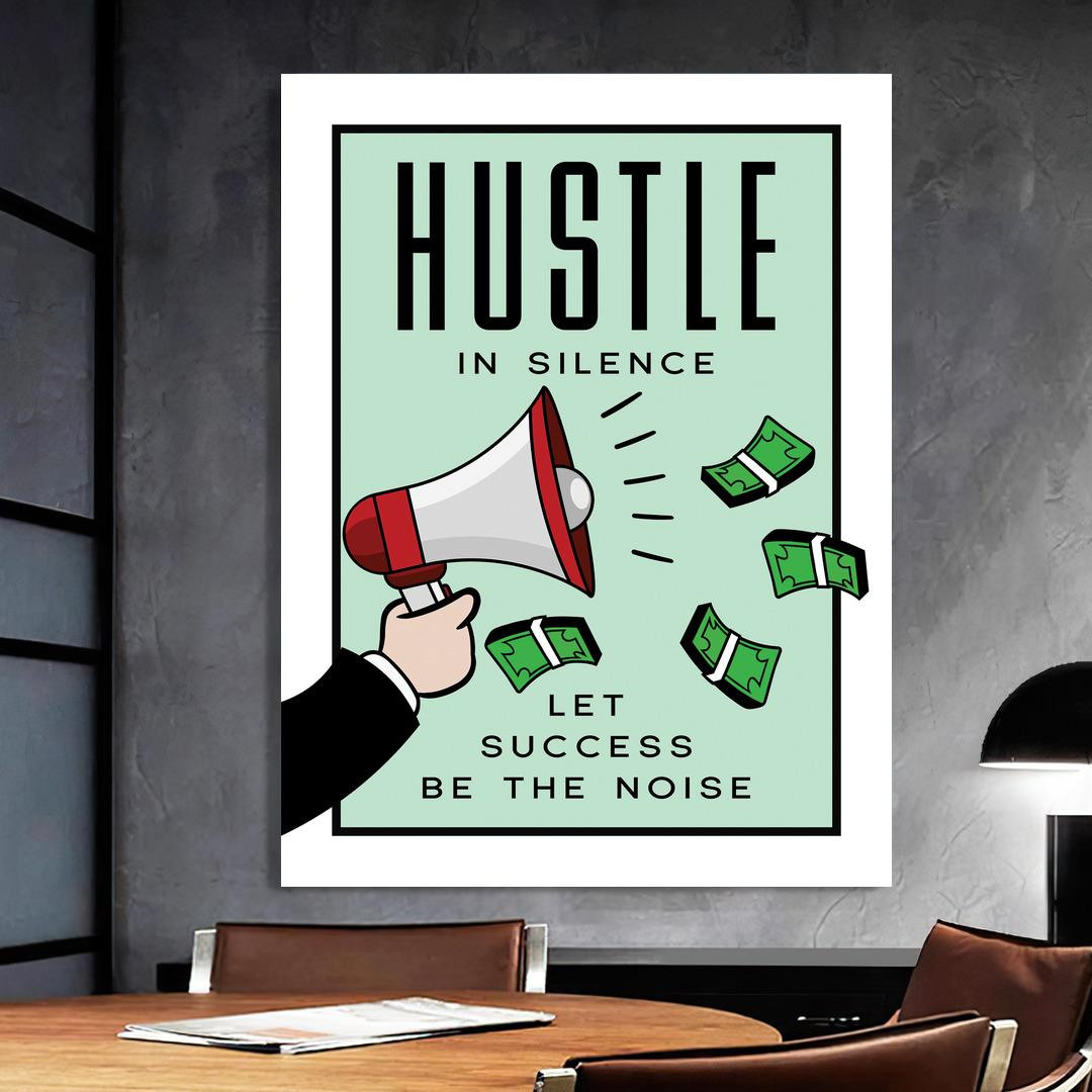 Hustle in Silence · Monopoly Edition_HSM417_2