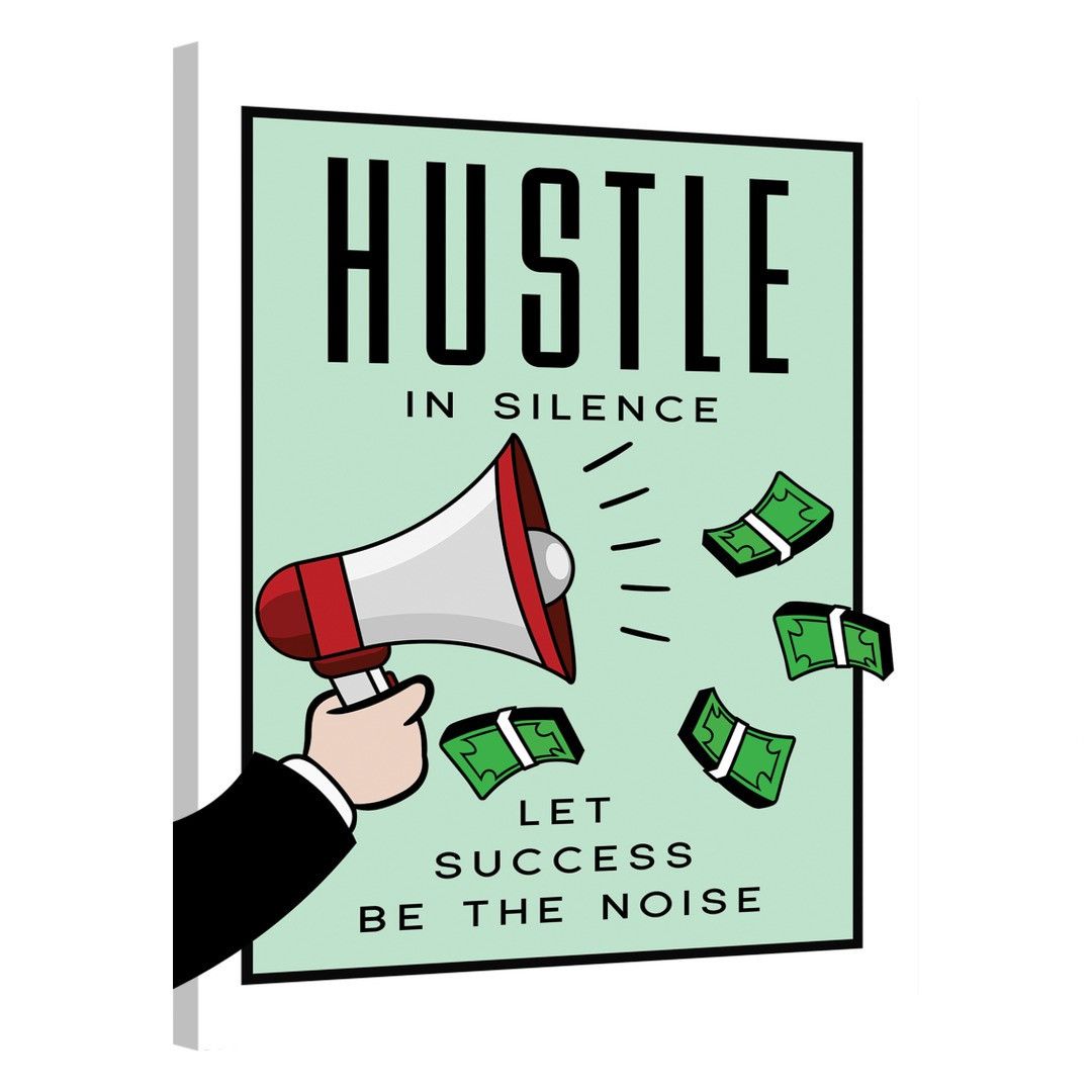 Hustle in Silence · Monopoly Edition_HSM417_0