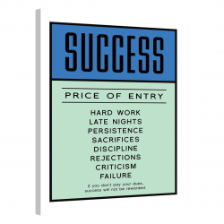 Success · Price of Entry · Monopoly Edition