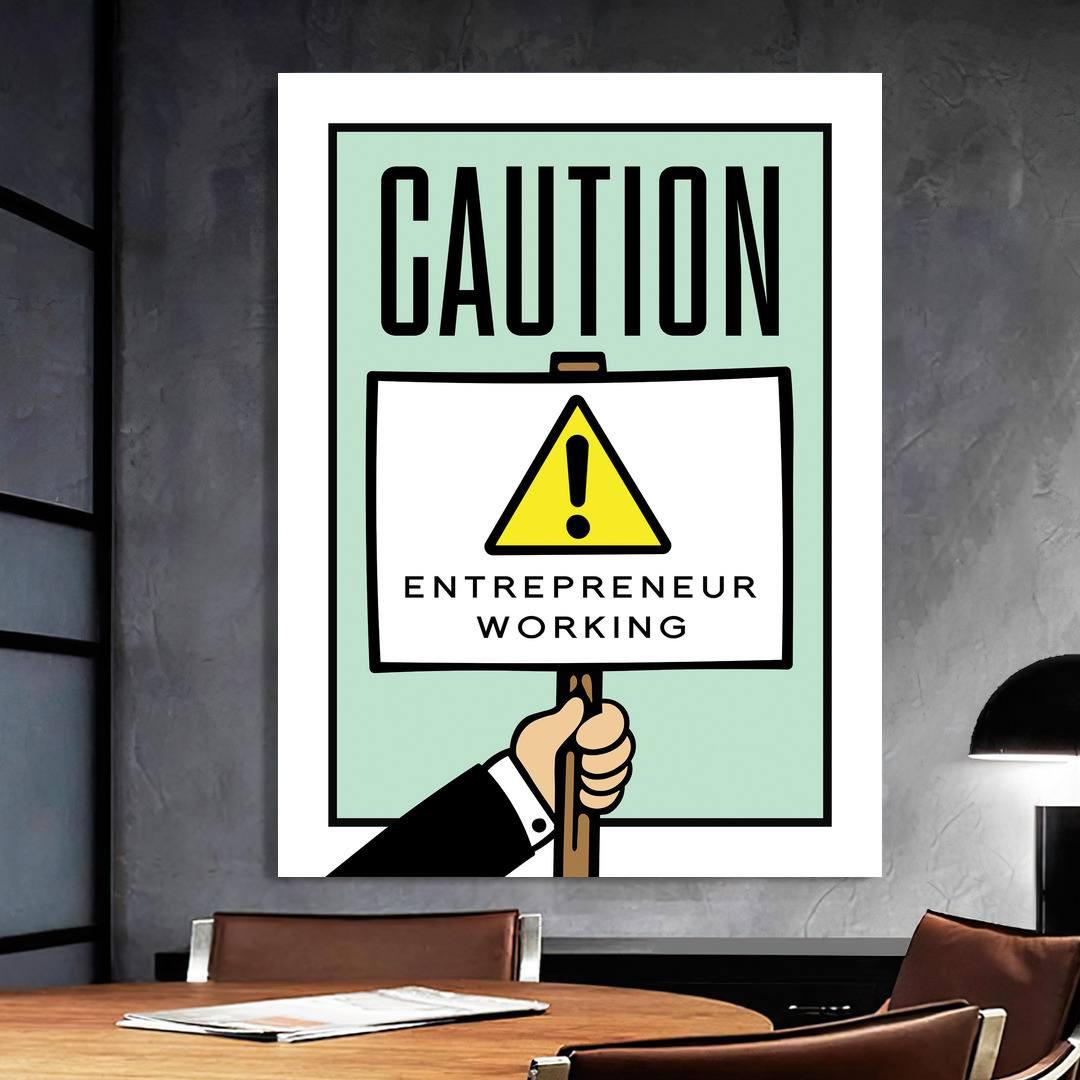 Caution · Monopoly Edition_CTN421_1