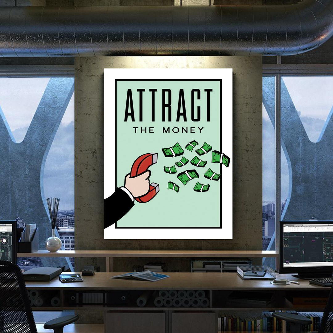 Attract the Money · Monopoly Edition_ATM423_2