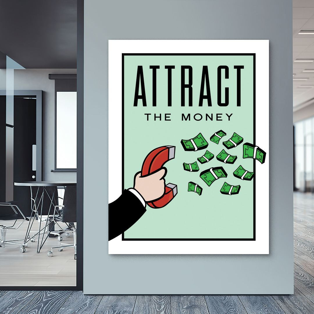 Attract the Money · Monopoly Edition_ATM423_4