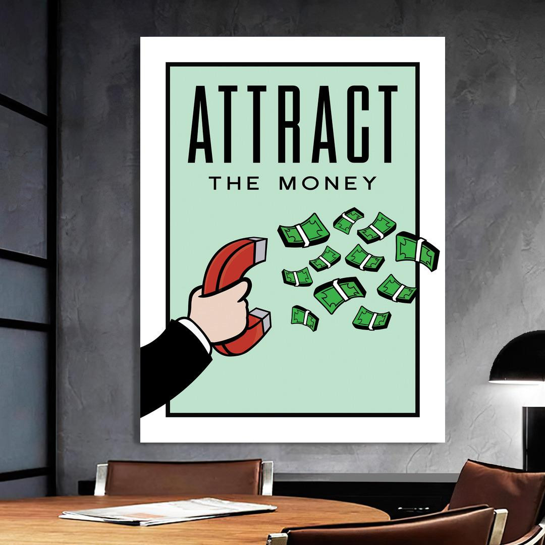 Attract the Money · Monopoly Edition_ATM423_1