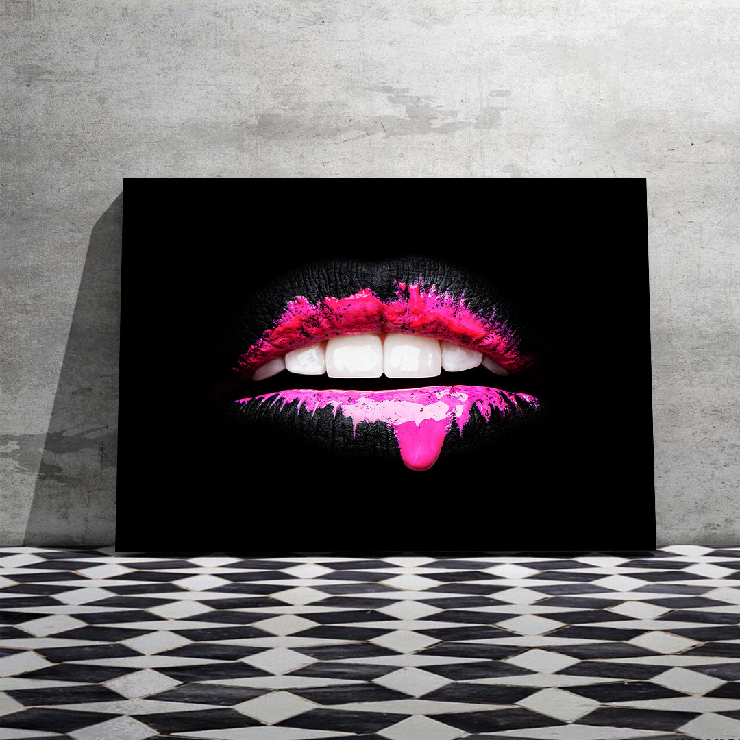 Black and Pink Lips_LIP873_3