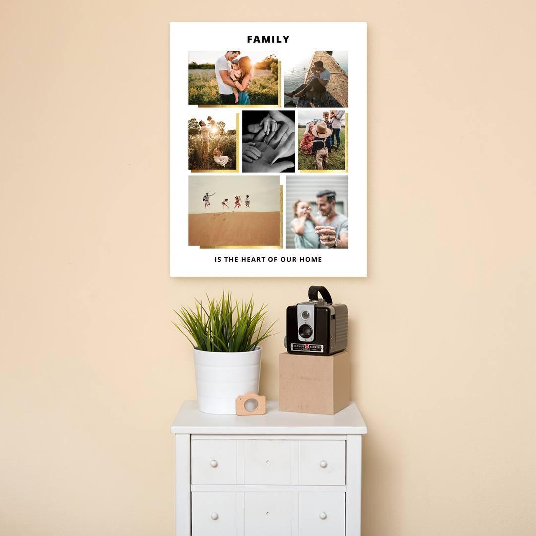 Tablou Personalizat cu 7 poze · Family_CUST439_4