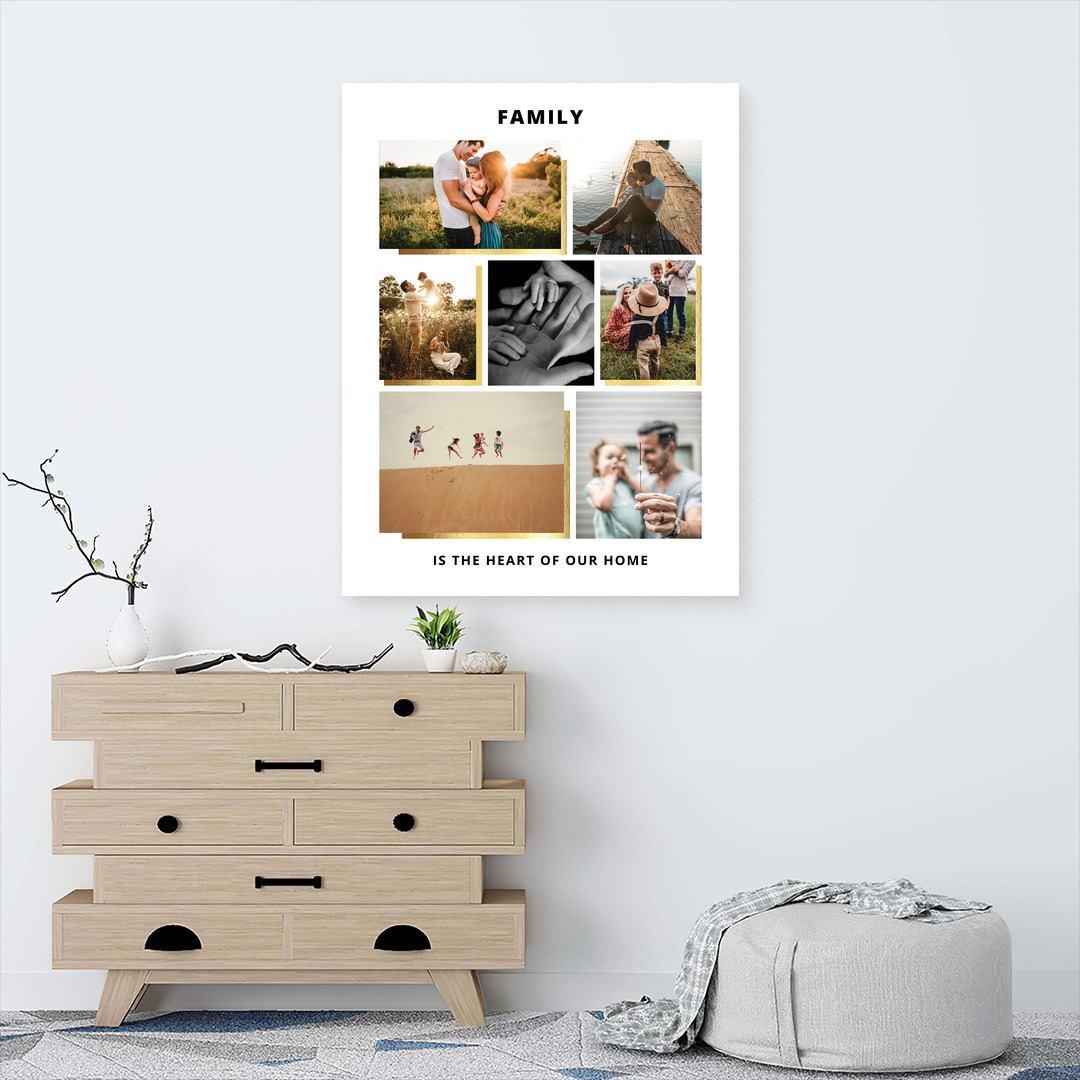 Tablou Personalizat cu 7 poze · Family_CUST439_3