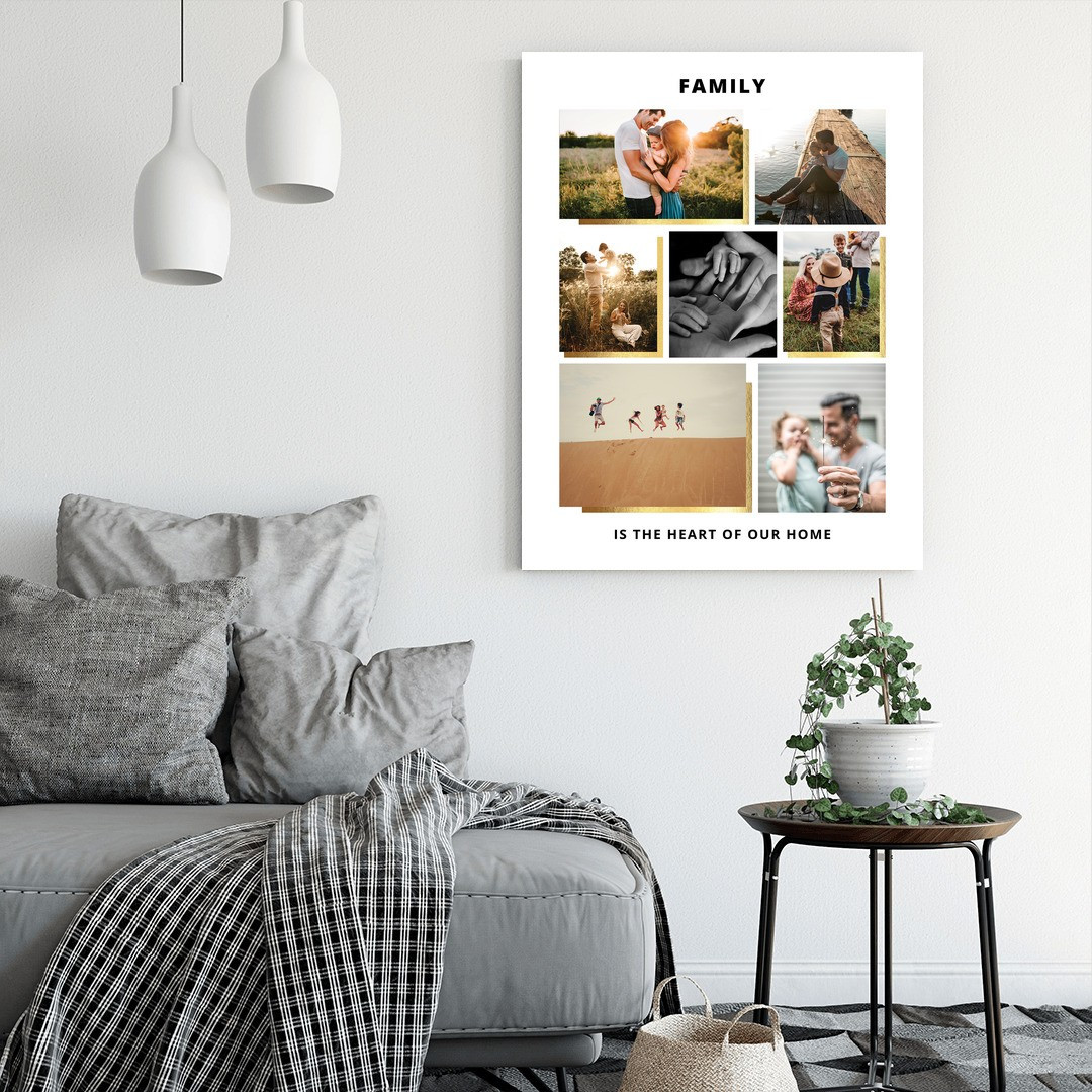Tablou Personalizat cu 7 poze · Family_CUST439_2
