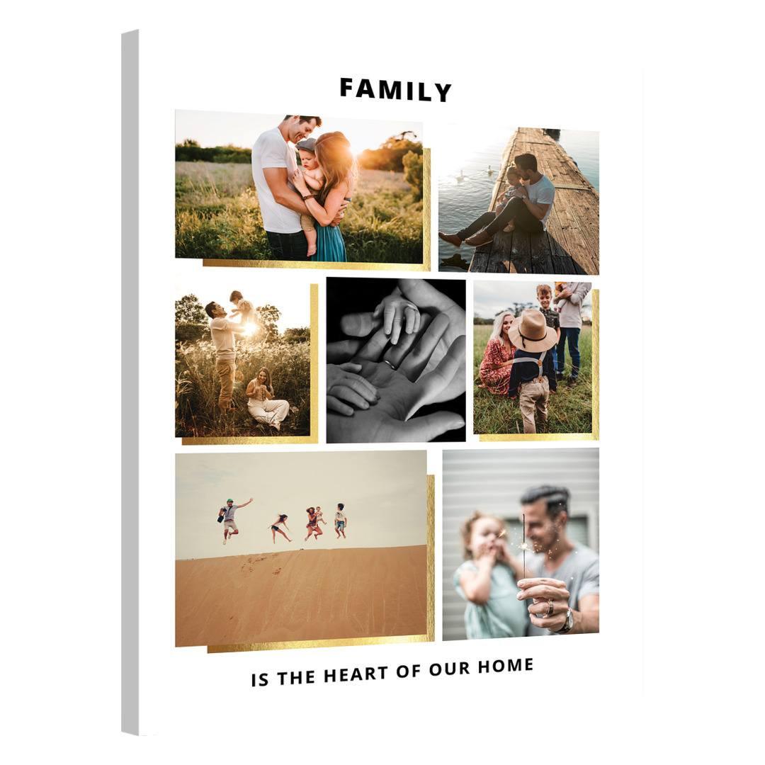 Tablou Personalizat cu 7 poze · Family_CUST439_0