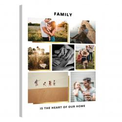 Tablou Personalizat cu 7 poze · Family