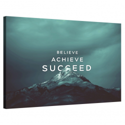 Believe · Achieve · Succeed