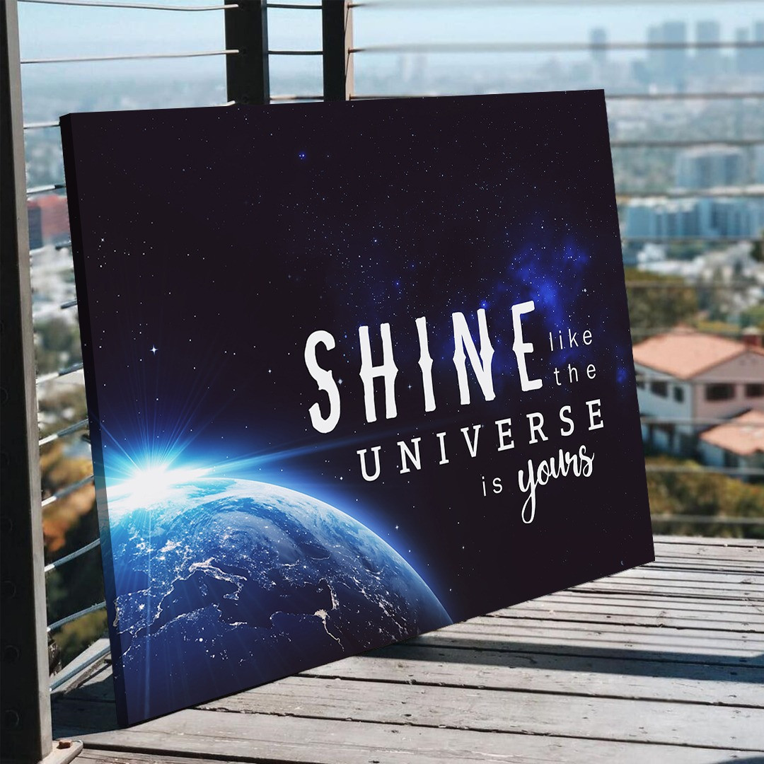 Shine like the universe is yours_SHN510_3